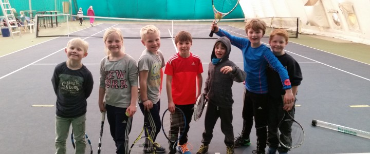 Tennis School times and availability